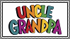 Uncle Grandpa stamp by 6t76t