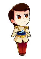 Disney Princes in APH style ~ Prince Charming by 6t76t