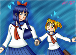 Popuko x Pipimi ~ Lead me to destruction by 6t76t