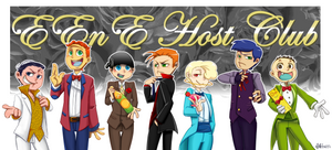 EEnE host club by aulauly7