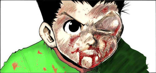 manga hunter x hunter : gon my coloring by ging1hxh