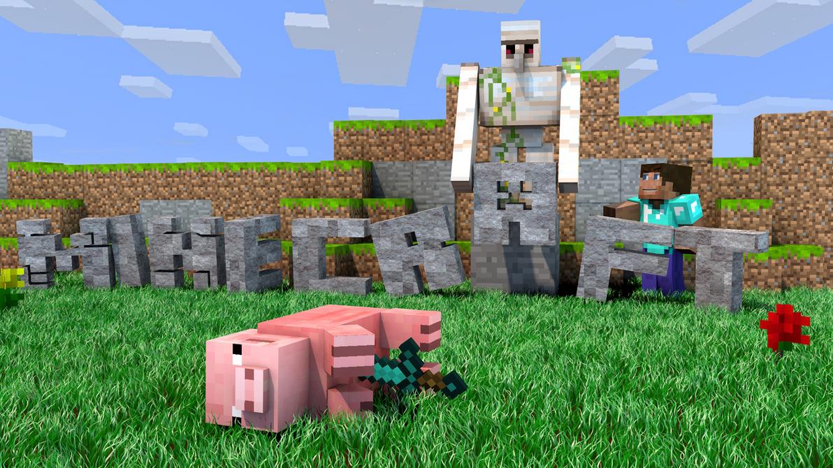 Minecraft wallpaper - Murdered pig [1920x1080] by DezTizzy ...