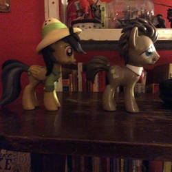 My first two MLP collectables! by DejaVuFlame
