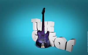 Tux Guitar - II by MadeInKobaia