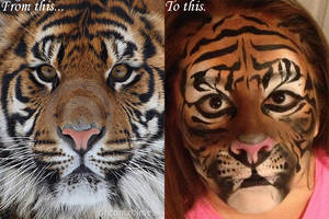 Realistic Tiger by chezmeister0