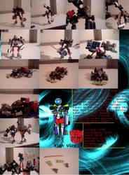 Lego Transformers High Wire Review by supahcomicbro