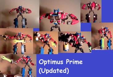 Lego TF Creations: Optimus Prime V.6 (Robot) by supahcomicbro