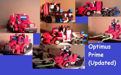 Lego TF Creations: Optimus Prime V.6 (Alt-Mode) by supahcomicbro