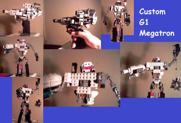 Custom G1 Megatron by supahcomicbro