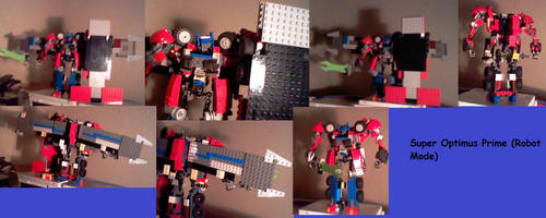 Super Optimus Prime V.6 (Robot Mode) by supahcomicbro