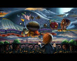 The Flying Parade by bramLeech