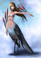 Harpy by bramLeech