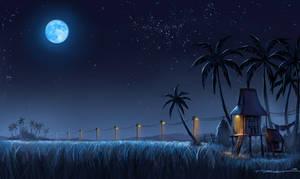 Kampung Nightscape by bramLeech