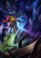 Indian Sword Master by bramLeech
