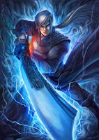 Thunder Han Tian Lei by bramLeech