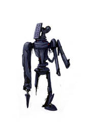 Zombie Robot 01 by bramLeech
