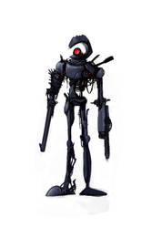 Zombie Robot 02 by bramLeech