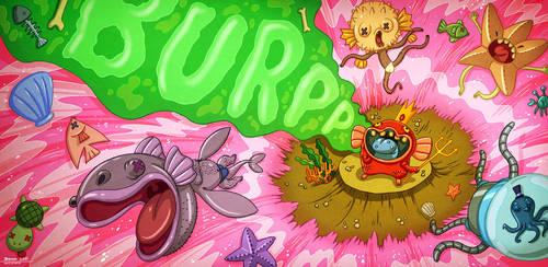 The King's Burp by bramLeech