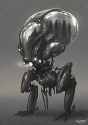 Alien Mini Bus by bramLeech