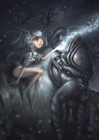 Little Snow Queen by bramLeech