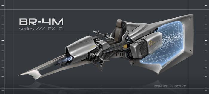 BR-4M - Speeder by bramLeech