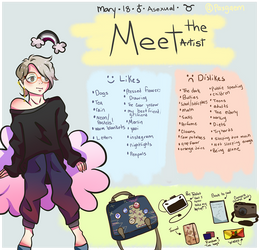 Meet The Artist thing by Meimeilou