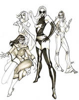 Marvel Diva's by Alex0wens