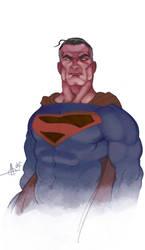 fdf3 superman by Alex0wens