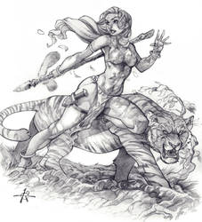 The Jungle Girl by Alex0wens