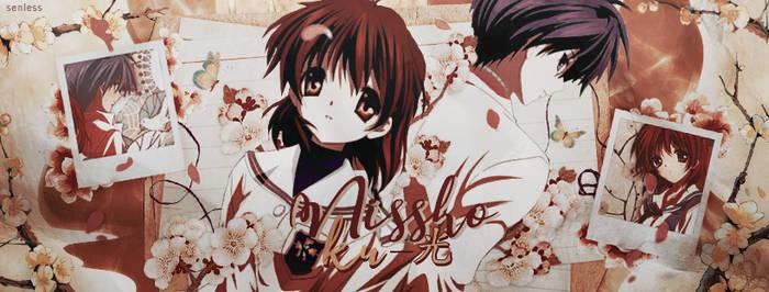 Tomoya y Nagisa | Portada by Butterth