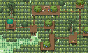 Tree Village by ChaoticCherryCake