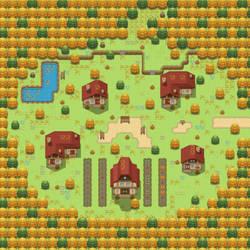 Pumpkin Village Day by ChaoticCherryCake