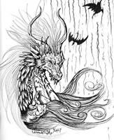 Dragon of Heat by SophieDragon