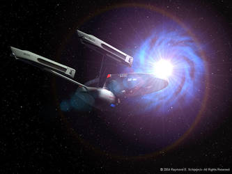 USS Enterprise NCC1701-A by Wolfhawk