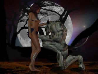 Tesanita and StalkerGarou 2009 by Wolfhawk