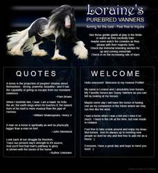 Howrse Profile - Loraine by Wolfhawk