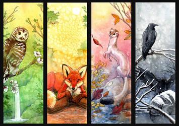 Four Seasons by hibbary