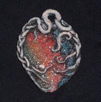heart pendant by hibbary