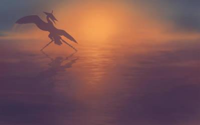 Tai Chi at Dawn by hibbary