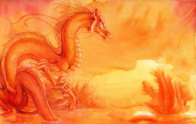 Tangerine by hibbary