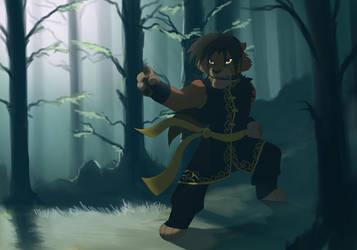 Warrior by hibbary