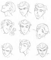 the many faces of Pietro by hibbary