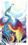 Rainbow Serpent by hibbary