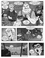 brotherhood comic page two by hibbary