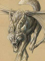 demonic wolfeh by hibbary