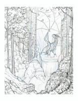 Dragon Ruins by hibbary