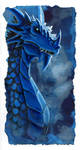 Blue Dragon by hibbary
