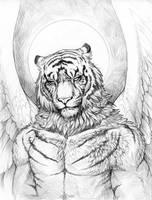 Angel by hibbary