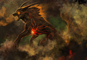 His Burning Heart by hibbary