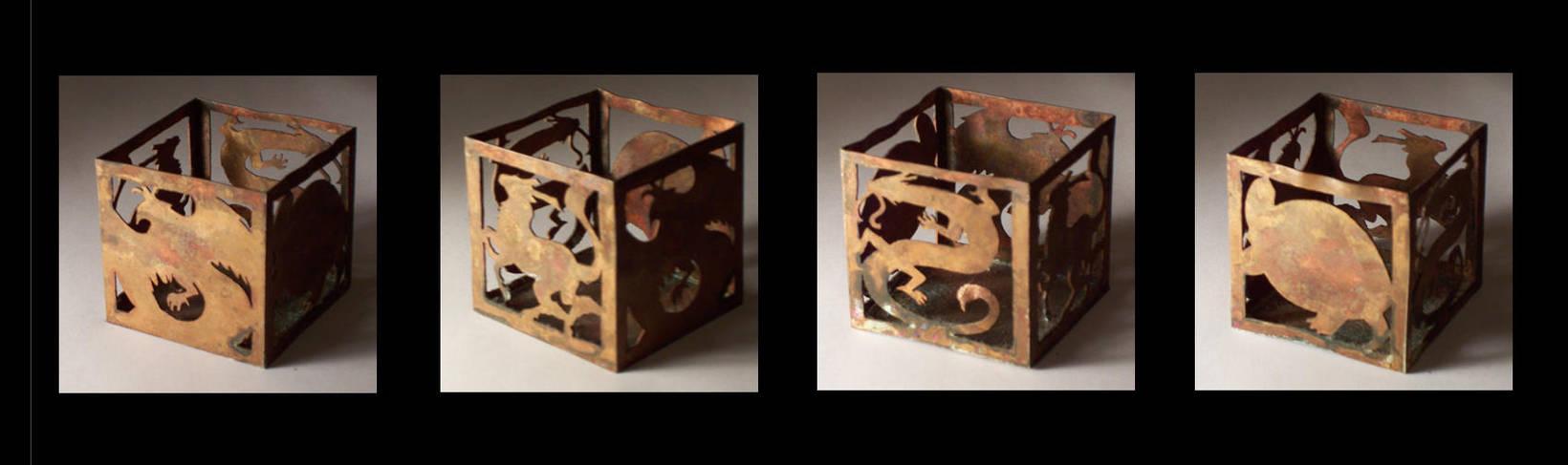 chinese sacred animal box by hibbary